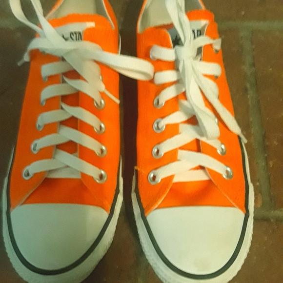 87243f12d997 Converse Shoes - Converse Bright Orange Men s size 5